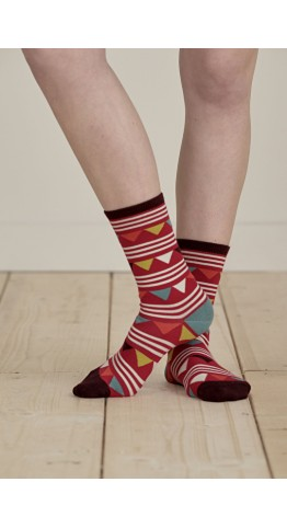 Seasalt Clothing Sailor Sock Bunting Coulis