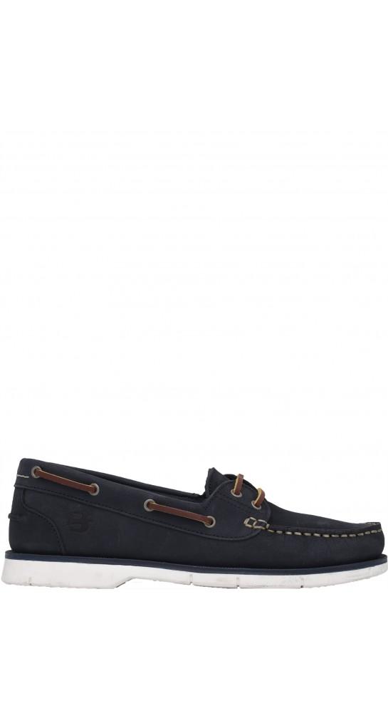 Brakeburn Classic Boat Shoe Navy