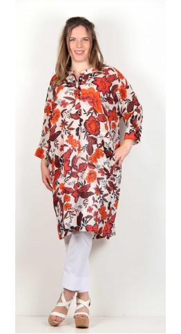 Masai Clothing Nara Dress Calypso Print