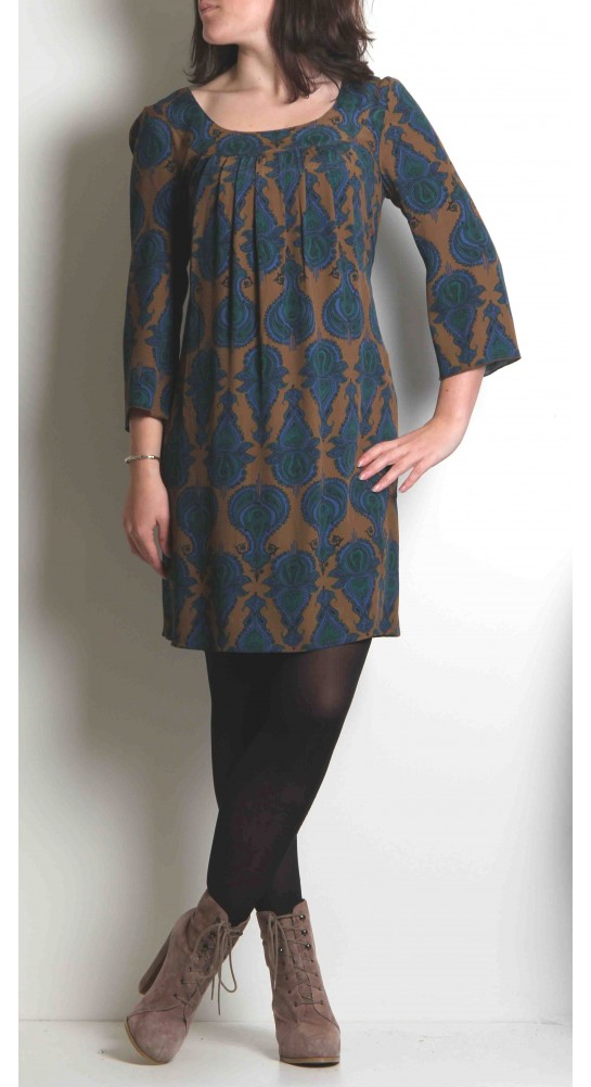 K & Us Vassa Tunic Blue