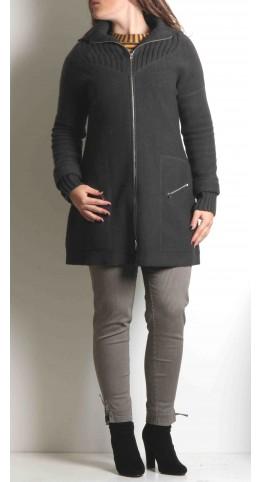 K & Us Angie Jacket Grey Morello