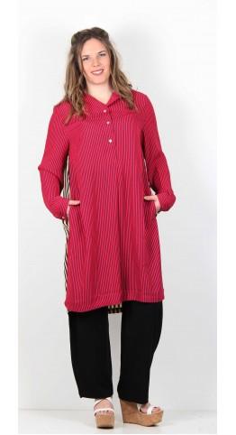 Alembika Shirt Tunic Geranium