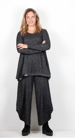Alembika Heather Tunic Black Marl