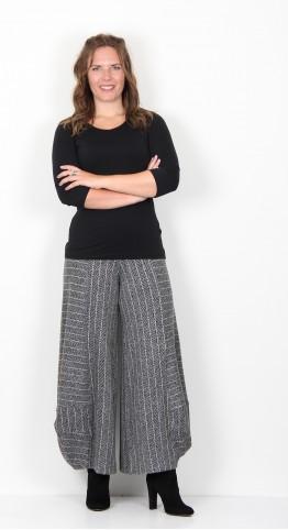Alembika Herringbone Jersey Lantern Trouser