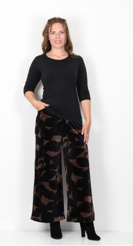 Alembika Plush Velvet Trousers Toffee