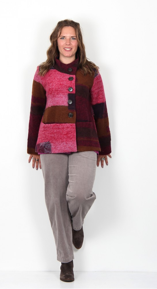 Alembika Wool Jacket Rose