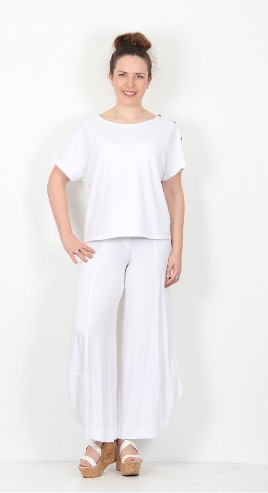 Alembika Lantern Pant White