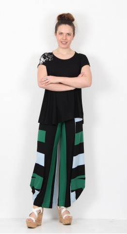 Alembika Sleeveless Top Black