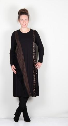 Alembika Midi Dress Leopard