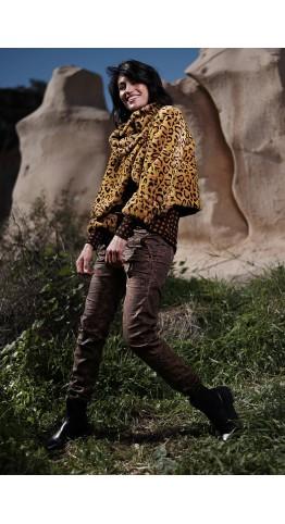 Alembika Etosha Crop Jacket Serval