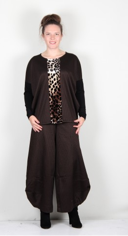 Alembika Relaxed Top Leopard