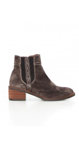 Alpe Side Detail Ankle Boot Earth