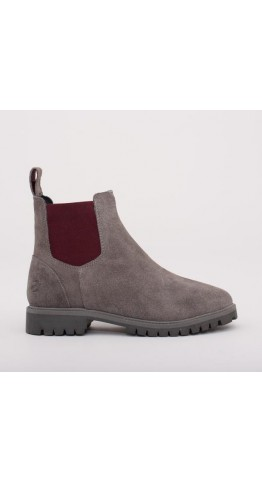 Brakeburn Suede Chelsea Boot Grey