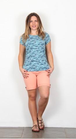 Brakeburn Fish Tee Shirt Blue