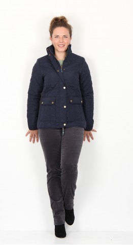 Brakeburn Classic Quilted Jacket Navy