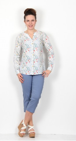 Brakeburn Meadow Blouse Ecru