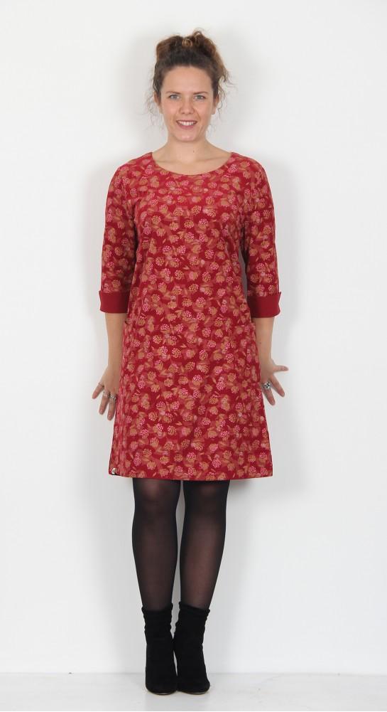 Brakeburn Blackberries Dress Red