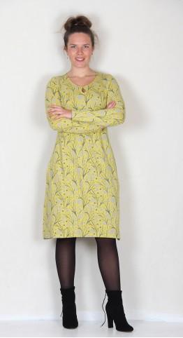 Brakeburn Dandelion Jersey Dress Yellow