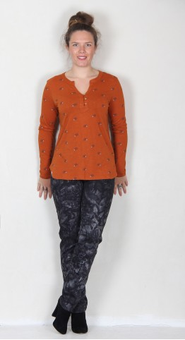 Brakeburn Hedgehog Top Orange
