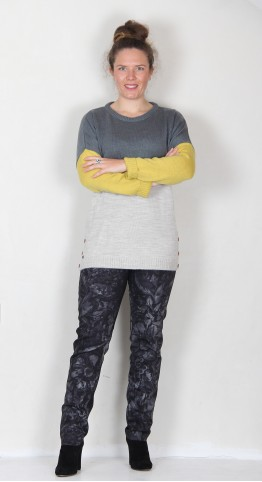 Brakeburn Colour Block Jumper Multi