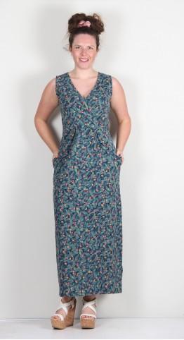 Brakeburn Summer Berry Maxi Dress Multi