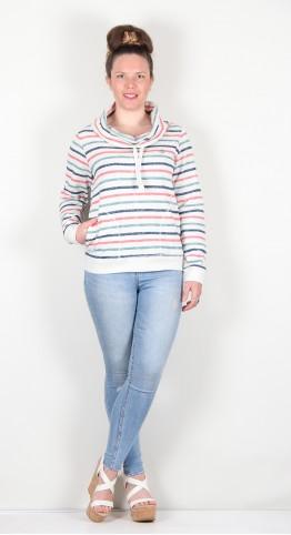 Brakeburn Cowl Neck Sweatshirt Multi