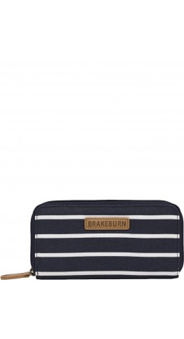 Brakeburn Stripe Purse Navy