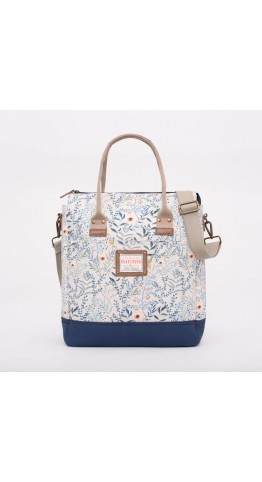 Brakeburn Botanical Shopper White.
