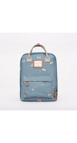 Brakeburn Sausage Dog Back Pack Blue