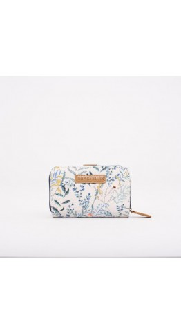 Brakeburn Botanical Wallet White.