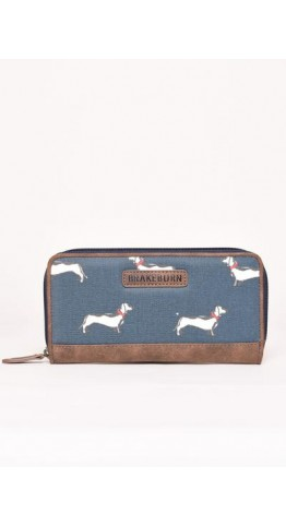 Brakeburn Sausage Dog Purse Teal