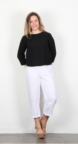 Cut Loose Clothing 3/4 Sleeve Top Black