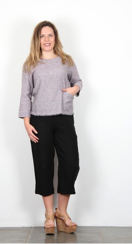 Cut Loose Clothing 3/4 Sleeve Top Rosalie