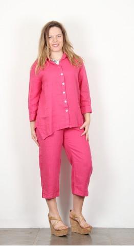 Cut Loose Clothing 3/4 Sleeve Shirt Cherry
