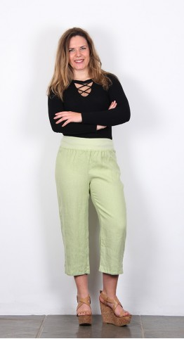 Cut Loose Clothing Capri Pants Aphid