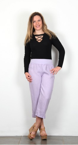 Cut Loose Clothing Capri Pants Iris