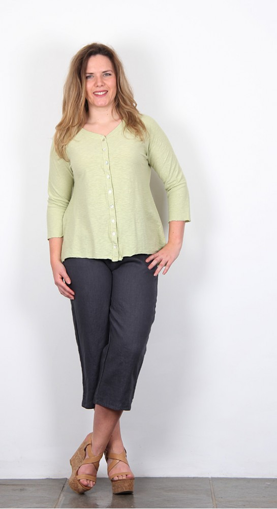 Cut Loose Clothing Jersey Cardi Aphid