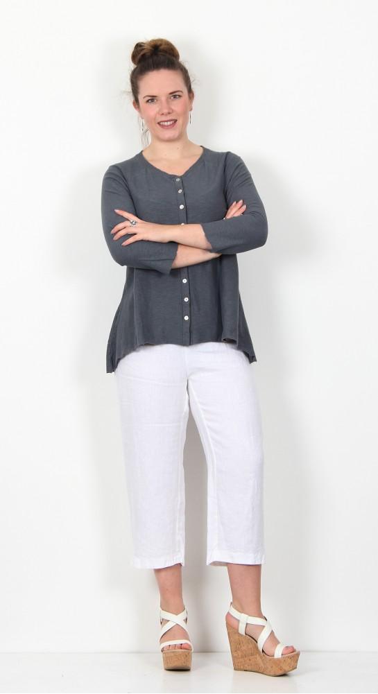 Cut Loose Clothing Jersey Cardi Iron