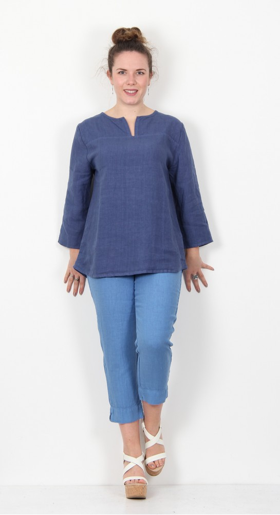 Cut Loose Clothing 3/4 Sleeve Pullover Shirt Space