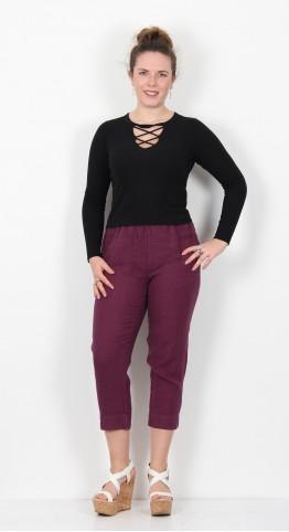 Cut Loose Clothing Tapered Crop Pant Vino