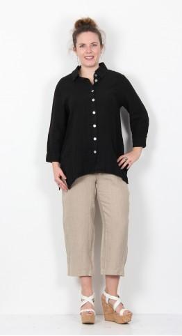 Cut Loose Clothing 3/4 Sleeve Shirt Black