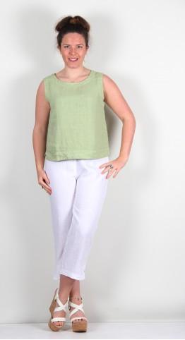 Cut Loose Clothing Linen Shell Absinthe