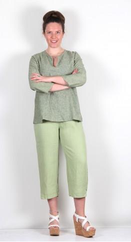 Cut Loose Clothing Soft Top Capri Pants Absinthe