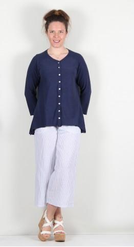 Cut Loose Clothing Jersey Cardi Nightsky