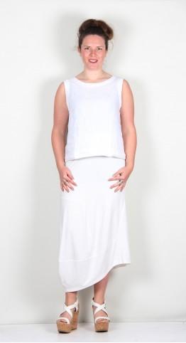 Elsewhere Madona Skirt Off White