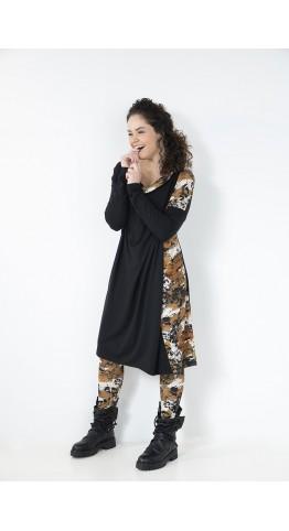 Elsewhere Norel Tunic/Dress Autumn Pattern