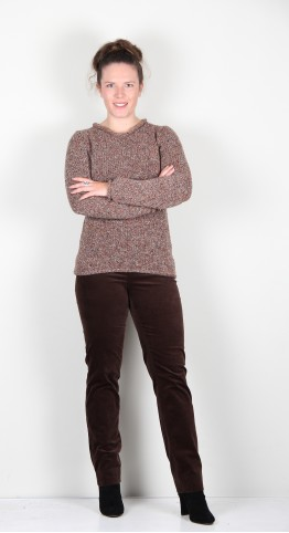 Fisherman Out of Ireland Rolled Edge Knit Autumn