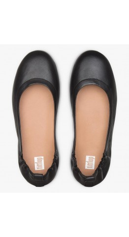Fitflop Allegro Flat Pumps Black Leather