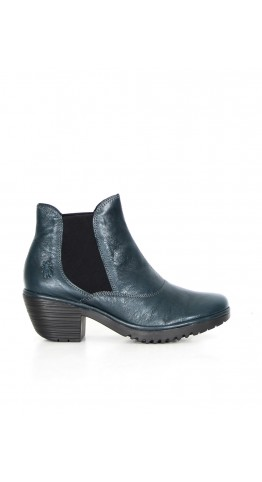 FLY LONDON Wote Chelsea Boot Dark Petrol