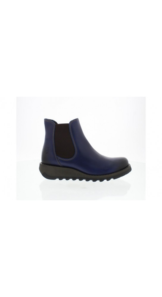 FLY LONDON Salv Chelsea Boot Blue